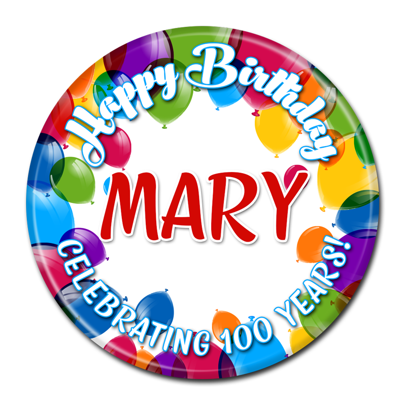 Happy Birthday Cake Buttons Birthday Buttons Custom Buttons