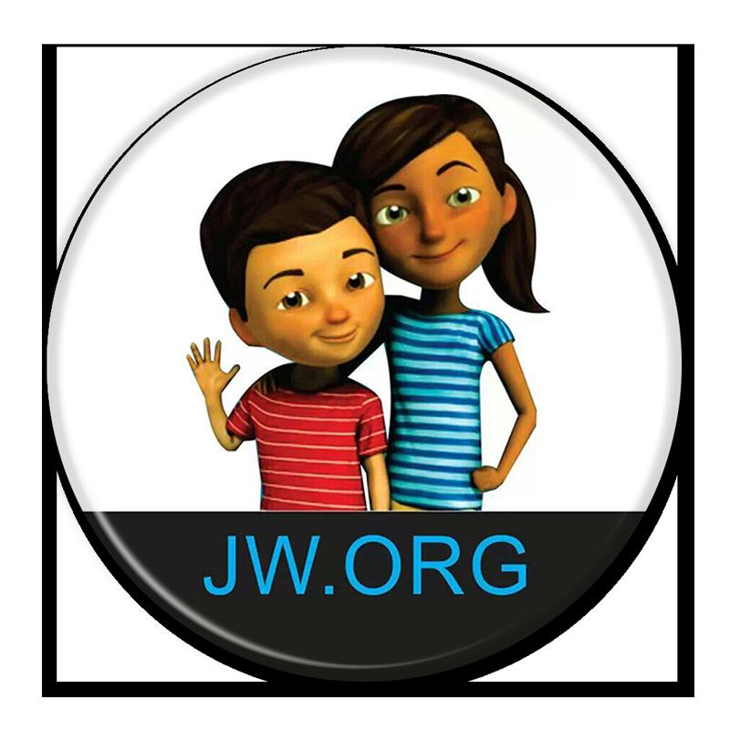 jw org round premium buttons jw org pins caleb and sophia