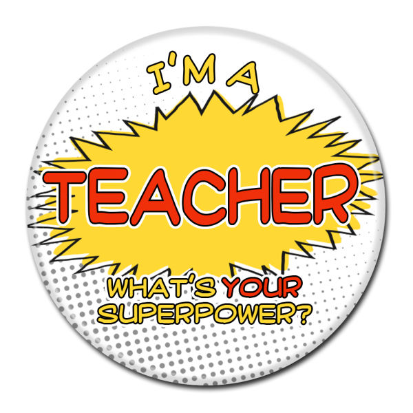 SCHOOL BUTTON - 117
