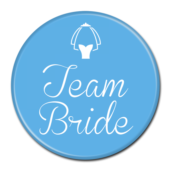 TEAM BRIDE BUTTON - 307
