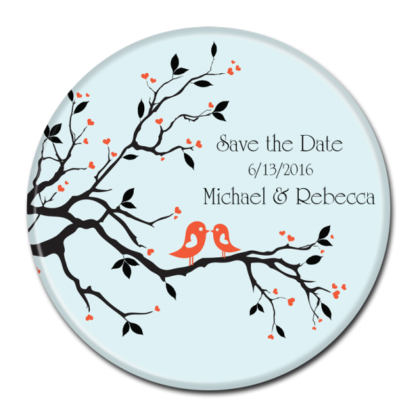 SAVE THE DATE BUTTON - 341