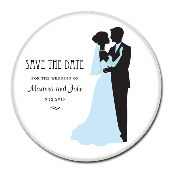 SAVE THE DATE BUTTON - 367