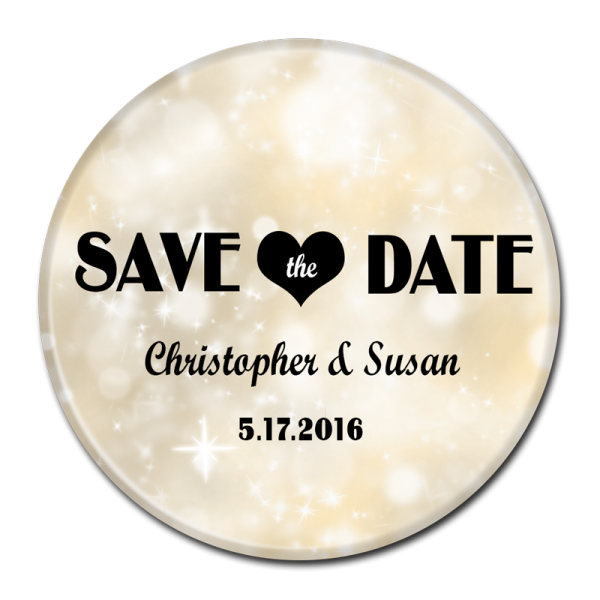SAVE THE DATE BUTTON - 372