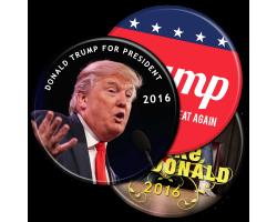 Donald Trump Buttons