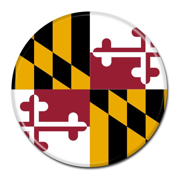 FLAG BUTTON - Maryland