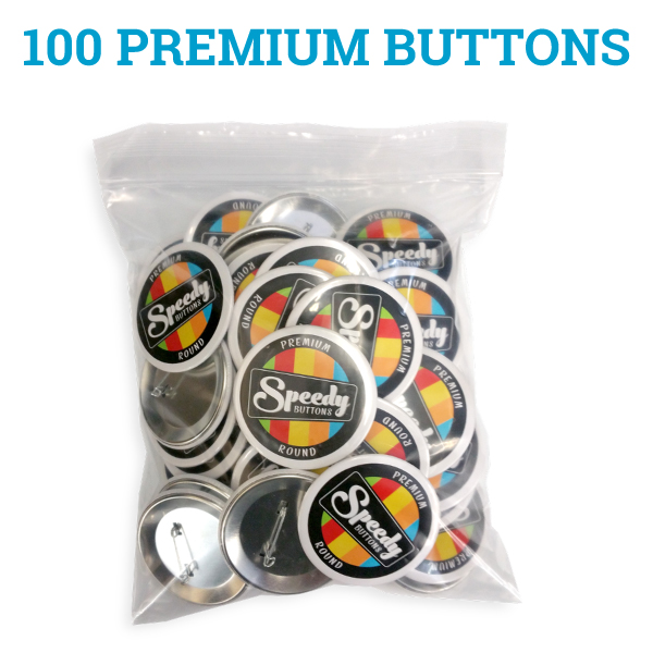 SPECIAL OFFER - 100 Custom Buttons - Free Shipping