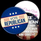 Republican Buttons