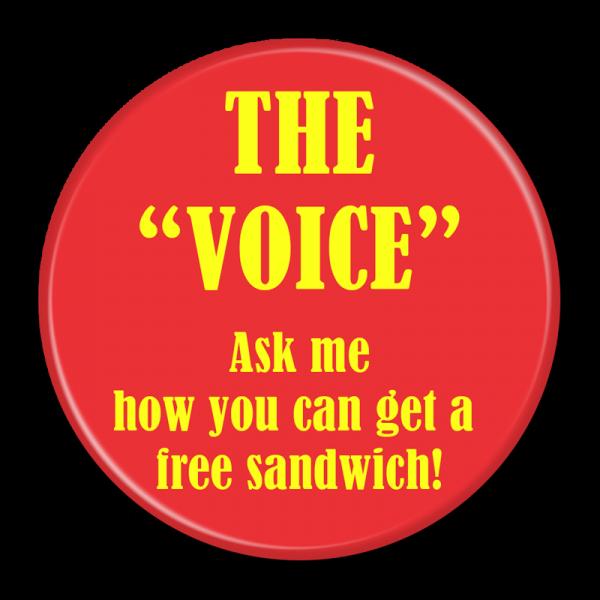 McDonalds The Voice Buttons