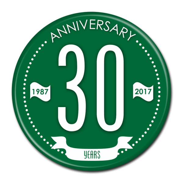 ANNIVERSARY BUTTON - 302