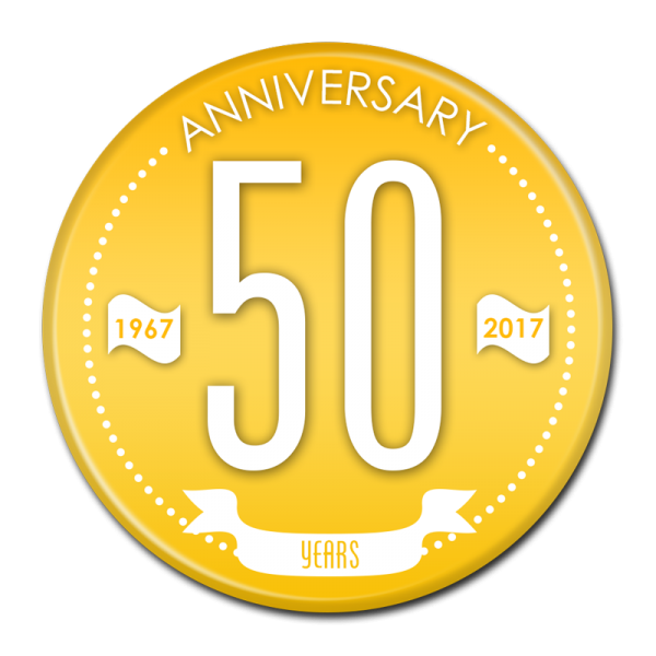 ANNIVERSARY BUTTON - 303