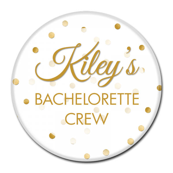 BACHELORETTE BUTTON - 301
