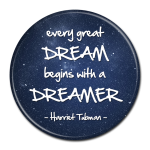 Black History Month Buttons - Dream Dreamer