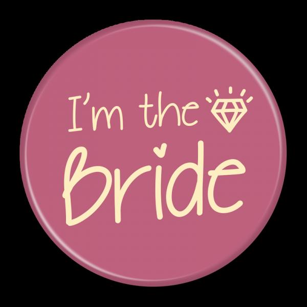 Bride Buttons - I'm The Bride
