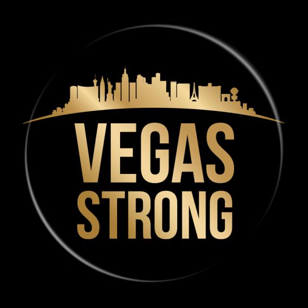 Vegas Strong Buttons - Vegas Memorial