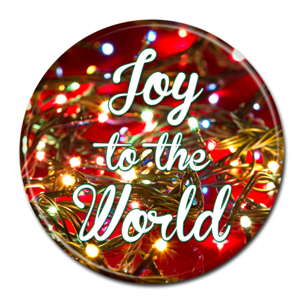 CHRISTMAS BUTTON -  304