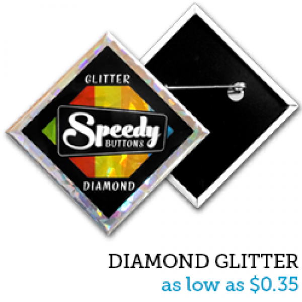 DIAMOND Glitter Buttons