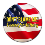 Hillary Clinton Button 309