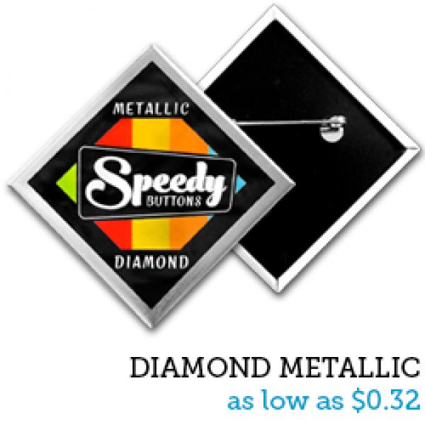 DIAMOND Metallic Buttons