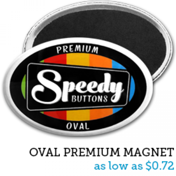 OVAL Premium Magnets