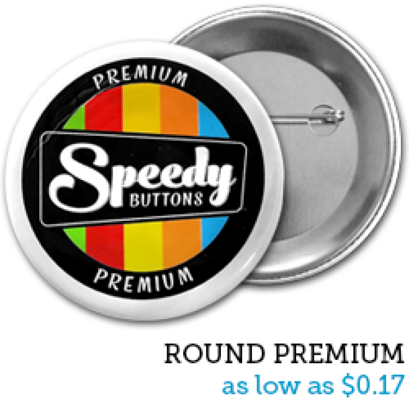 Custom Pin Back Buttons | Campaign Buttons | Pin Buttons Fast