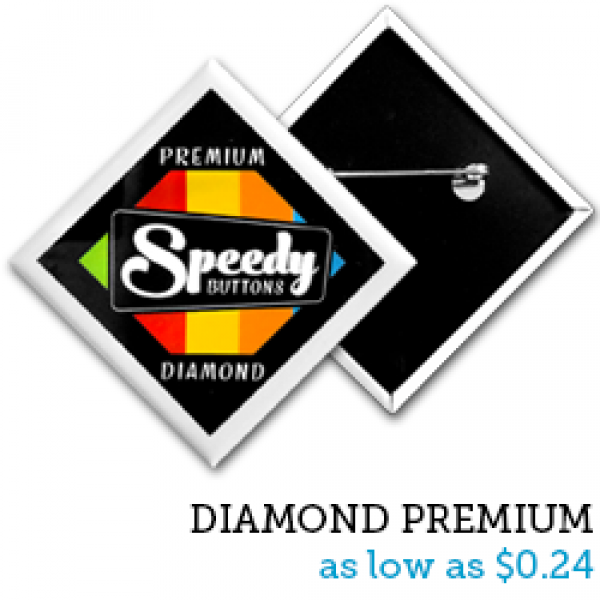 DIAMOND Premium Buttons
