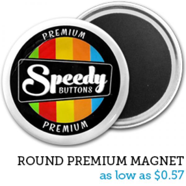 ROUND Premium Magnets