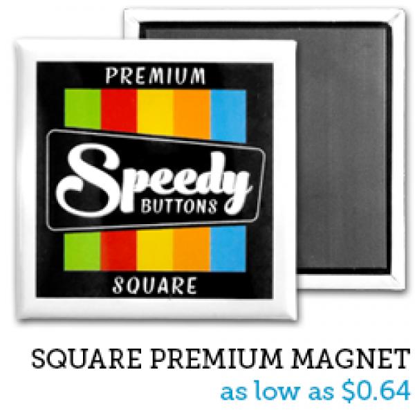 SQUARE Premium Magnets