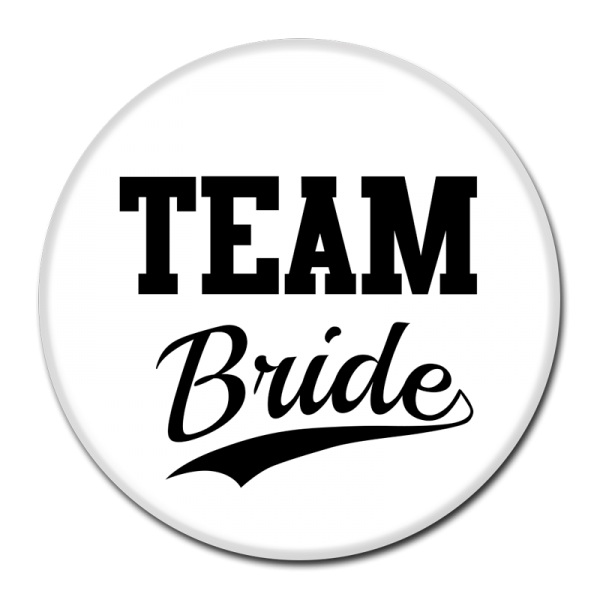 TEAM BRIDE BUTTON - 300